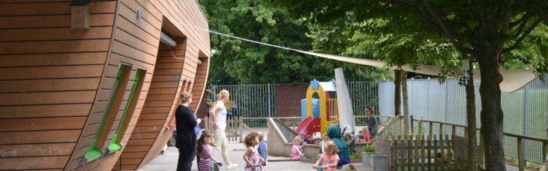 Plein kinderdagverblijf Villa Zeezicht Muiderberg