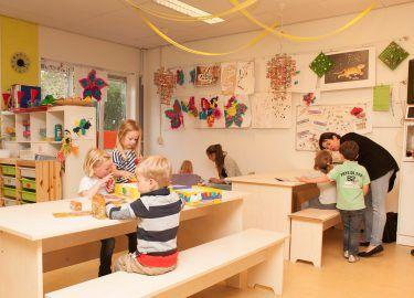 spelen bij BSO Ravelijn Kinderrijk Naarden