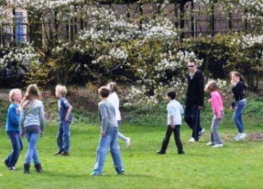 Buitenspelen Tussenschoolse opvang SKBNM
