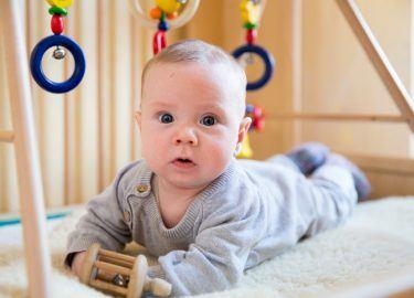 Baby's bij kinderdagverblijf Michaël