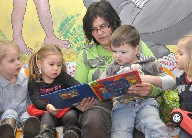Samen lezen bij PSZ Kwetternest