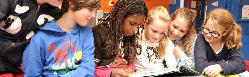Tieners op BSO Tiens in Bussum