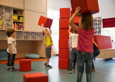 bouwen bij BSO Spiegelbeeld Bussum