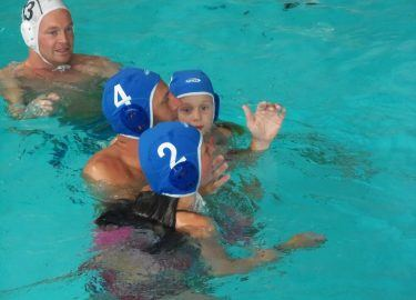 Waterpolo Tienercentrum Tiens