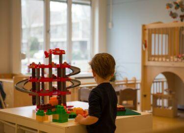spelen bij Kinderdagverblijf Ravelijn
